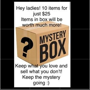 10 MYSTERY items per box